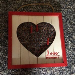 Love moments decorative sign